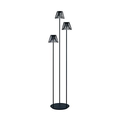 CRISTHER LIGHTING- Lámpara de pie AIDA antracita led SMD apto exterior IP65. Lámpara de suelo para salas de estar, terrazas, porches y zonas Chill Out de hoteles.