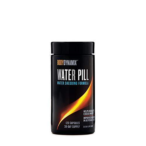 BodyDynamix Water Pill, 120 Capsules, Helps Regulate Water Balance