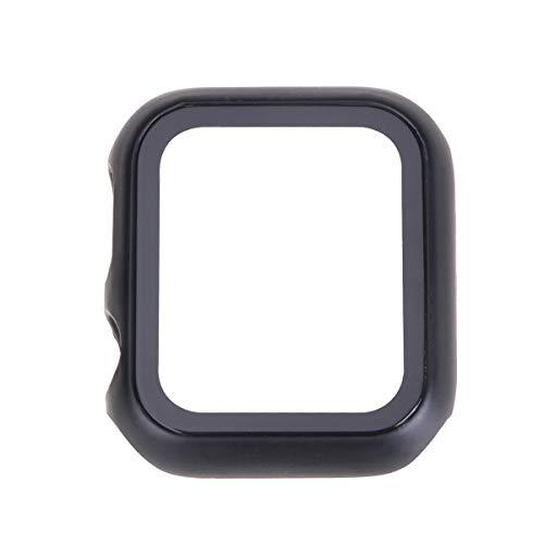 PartyKindom PC- Shell- Sportuhrengehäuse mit klarem Bildschirm Schutzdeckel für Watch- Größe 40 mm (schwarz) für Geschenk