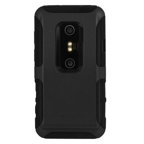 Seidio CSK3HEV3DX-BK DILEX Extended Case für Seidio Innocell Extended Akkus für HTC EVO 3D, Schwarz