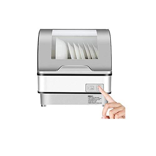HMLH Mini Lavavajillas, Lavavajillas portátil encimera Lavavajillas 1500W No Requiere instalación Completamente automática Desinfección rápida Esterilizar, seco y Almacenamiento