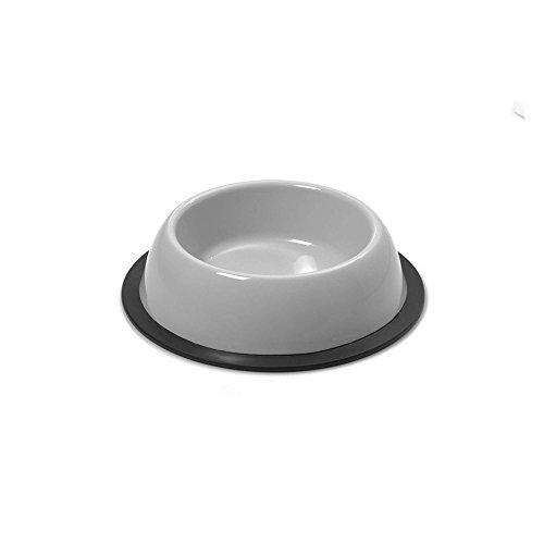 GP GP10043 Comedero Redondo Antideslizante Silver