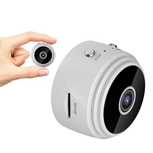 sZeao Mini Cámara Espía 1080P HD Cámara Espía Cámara Oculta Inalámbrica con Detección De Movimiento Y Visión Nocturna para Oficinas En El Hogar En Interiores Y Exteriores,B