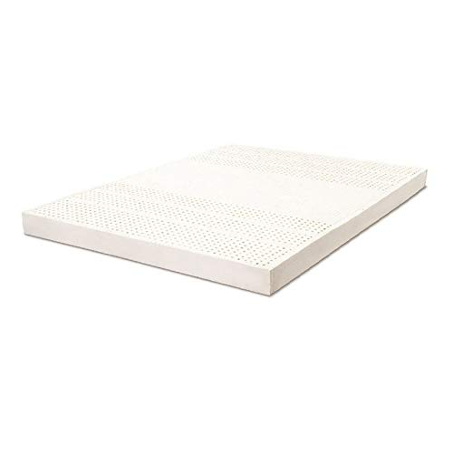 Natural Latex Mattress, Double Original 1.5/1.8 Meters Wide and 5/7.5/10 Thick, Moderate Soft and Hard, Multi-Dimensional Pores, Soft and Comfortable,10x180x200cm