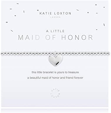 Katie Loxton a Little Maid of Honor Womens Stretch Adjustable Band Fashion Charm Bracelet product image