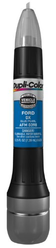 Dupli-Color AFM0398 Blue Pearl Ford Exact-Match Scratch Fix All-in-1 Touch-Up Paint - 0.5 oz.