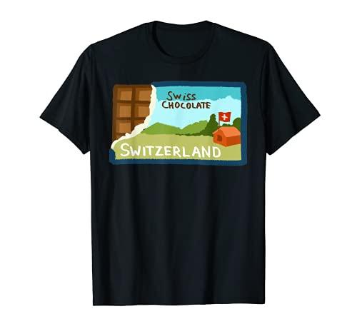 Suiza Chocolate suizo Camiseta