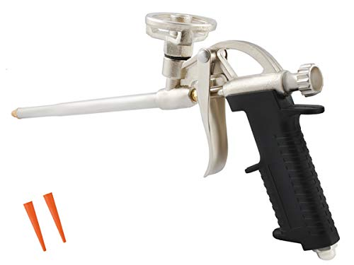 ISO TRADE Bauschaum Pistole Dosierbar Metallkorpus Kunststoffgriff Leicht Praktisch #010