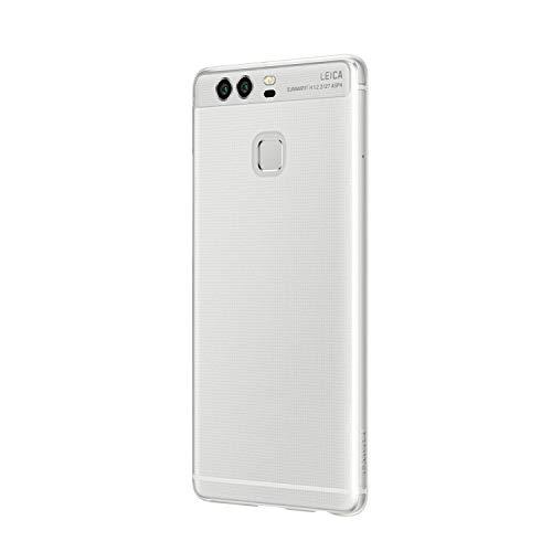 Huawei P9 Cover Transparent - Carcasa Protectora Oficial para Huawei P9, Transparente