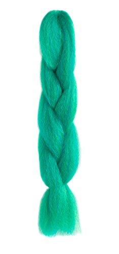 American Dream Premium Kanekalon Braid für Haarwebart, Dreads & Avant Garde Kreatives Styling - Farbe M-F12/F21