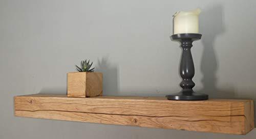 Die Gartenbeet-Kiste Eichen Regal Rustikal Massiv Eichenregal Natur 100cm (Eichenholz naturbelassen)