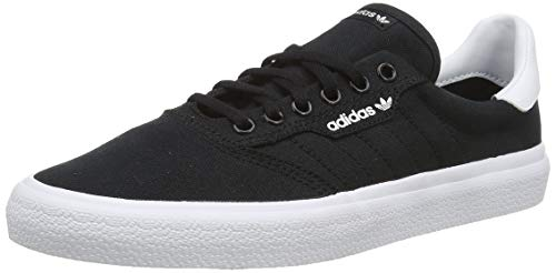 adidas 3Mc, Zapatillas de Skateboard Unisex Adulto, Negro (Core Black/Core Black/FTWR White Core Black/Core Black/FTWR White), 44 EU