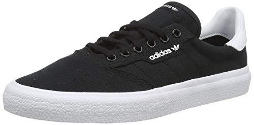 adidas 3Mc, Zapatillas de Skateboard Unisex Adulto, Negro (Core Black/Core Black/FTWR White Core Black/Core Black/FTWR White), 40 EU