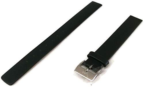 Skagen Uhrenarmband 12mm Leder Schwarz XS - 358XSSLBC