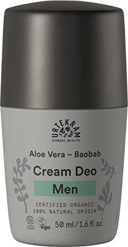 Urtekram Herren deo Bio, mit Aloe Vera und Baobab, 50ml