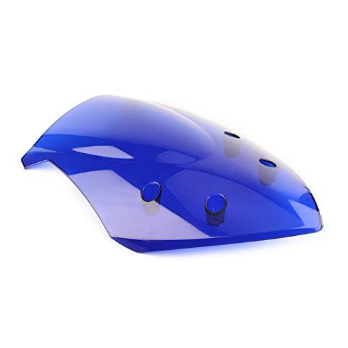ACYY Parabrisas De Motocicleta Parabrisas De Motocicleta ABS Protector De Pantalla De Viento Fit For Suzuki GSX-S1000F 2015-2018 Parabrisas De Motocicleta (Color : Blue)