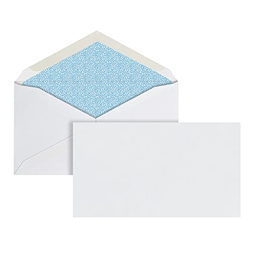 Office Depot Security Envelopes, 6 3/4 (3 5/8in. x 6 1/2in.), White, Box of 500, 12026