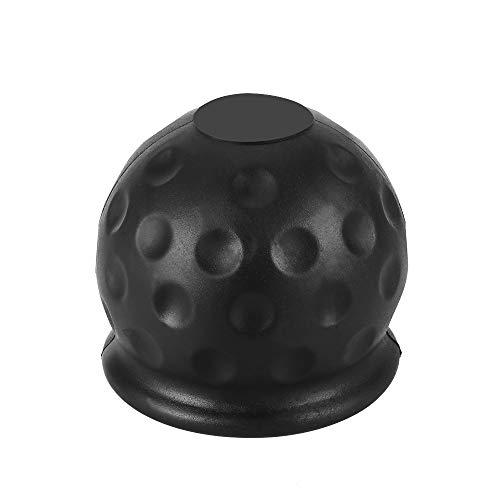 Konesky Tow Bar Ball Cover Anhängerkupplung Empfänger Gummikappe 50mm Abschleppstange Protector