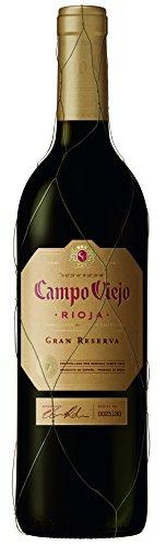 Campo Viejo Gran Reserva Rotwein – Spanischer Rotwein mit Aromen dunkler Früchte & rauchig-holzigen Nuancen – Weinbox-Set 6 x 0,75 L