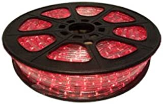 CBconcept 12VLR-65FT-R Red 65-Feet Low Voltage 12-volt 2-Wire 1 2-Inch LED Rope Light, Christmas Lighting, Indoor Outdoor Rope Lighting