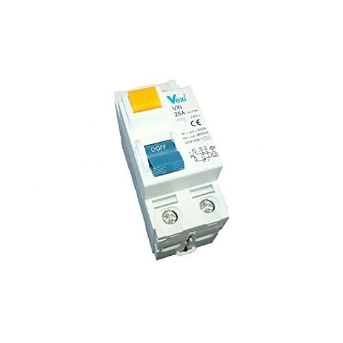 Vexi Interruptor diferencial 2P 25A 300MA Clase AC