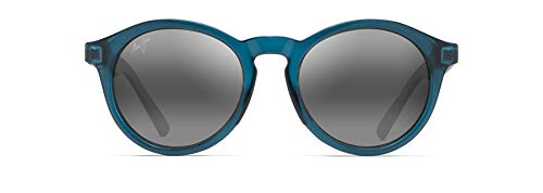 Maui Jim Gafas de sol PINEAPPLE 784-06D | Montura verde azulado | Lentes polarizadas gris neutro