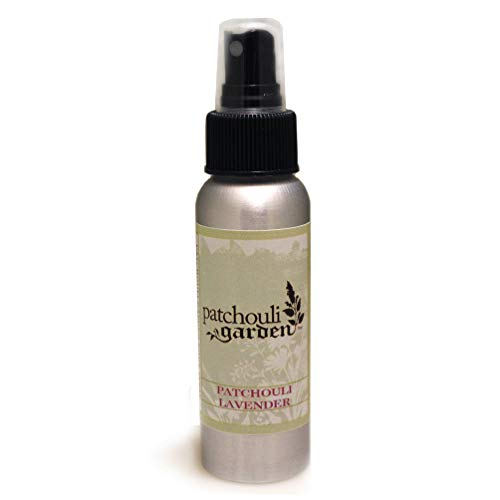 Patchouli Garden - Patchouli Lavender Perfume Body Spray 2.5 Ounces