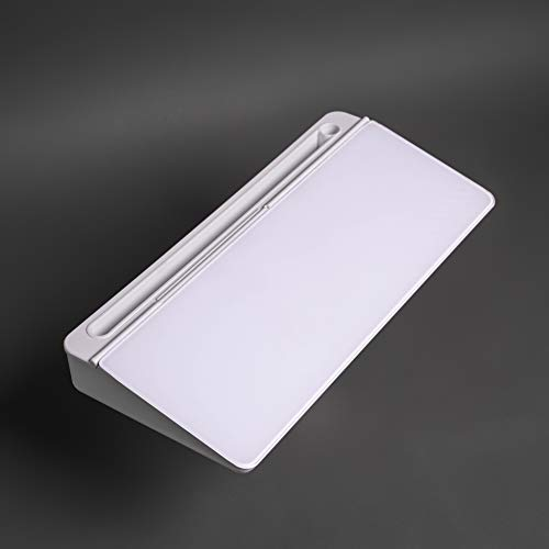 arood Desktop Dry Erase Board with Storage and iPad/Phone Holder Glass Whiteboard with Eraser Desk Keyboard Accessories
