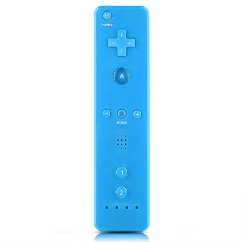 Unibell Gioco Maniglia Joypad con Joystick analogico for Nintendo WiiU/Console Wii (Blu)