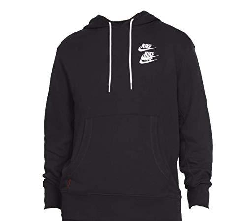 NIKE M NSW PO FT Hoodie WTOUR Sweatshirt, Black, L Mens