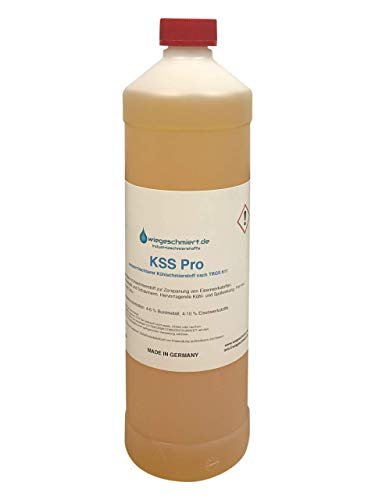 KNAUS Kühlschmierstoff Pro zum Fräsen, Drehen, Bohren und Sägen | Gute Hautverträglichkeit