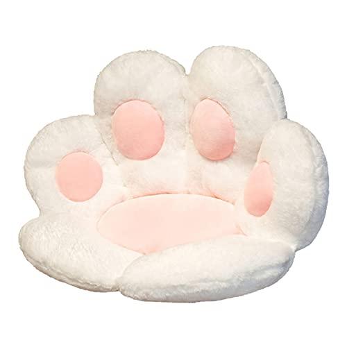Cojín de asiento con forma de pata de gato, cojín de silla en forma de pata, cojín de respaldo perezoso en forma de pata de gato