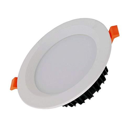 Wlnnes La luz de baño Cocina anti-vaho Downlight 20W mazorca 25W30W35W 40W Led antideslumbrante empotrada en el techo CRI 90 Alto Desarrollo color AC110V-240V 120 ° Ángulo luminoso