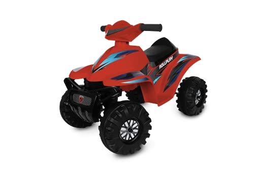 Rollplay 26641 ATV Mini Quad Racing, 6V, red, Rot