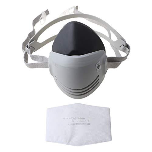 Changzhou Nuevo Anti-Polvo Gas Respirador Máscara Soldador Soldador Pintura Rociadora Cartucho Caliente