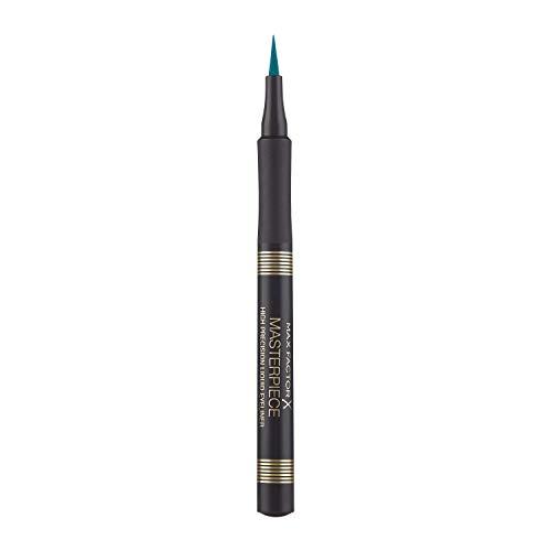 Max Factor, Delineador de ojos (Tono: 040 Turquoise, Gama Azules) - 16.4...