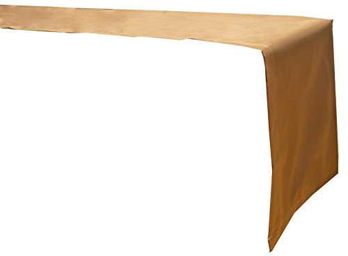 beo Table d'extérieur Plafond Chemin de Table imperméable, rectangulaire, 120 x 45 cm, Sable