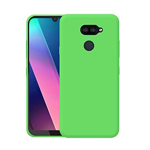 TBOC Custodia Gel TPU Verde Compatibile con LG K40S [6.1 Pollici] Cover in Silicone Ultra Sottile e Flessibile per Cellulare [Non è Compatibile con LG K40]