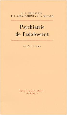 Psychiatrie de l'adolescent PDF Books