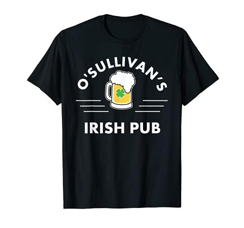 O'Sullivan's Pub irlandés San Patricio Día O'Sullivan Camiseta