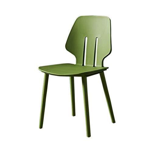 LLYU Nordic eenvoudige economische IKEA verdikt terug, kunststof eetkamerstoel, bureaustoel, computerstoel