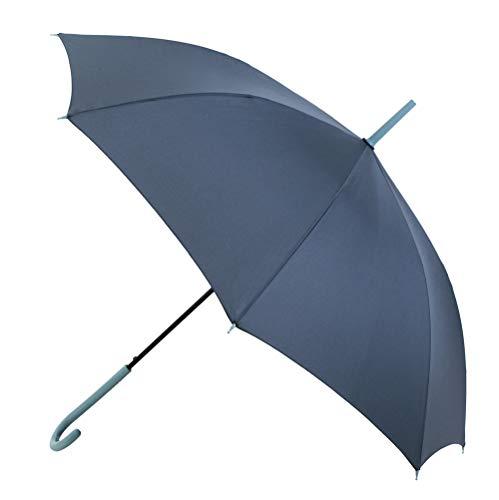 VOGUE- Paraguas mujer. 12 colores a elegir. Paraguas automático y antiviento. Las varillas del paraguas se fabrican en fibra de vidrio.