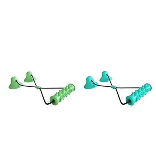 MERIGLARE 2pcs Dog Tug Toy Tier Kauen Biss Spielzeug Zähne Reinigung