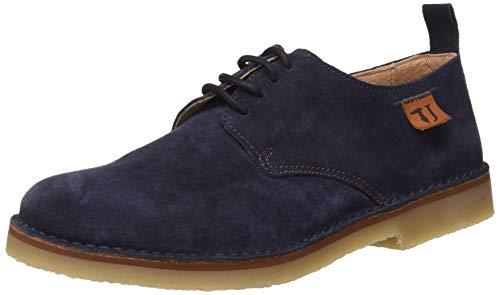 Trussardi Jeans Derby Suede, Oxford para Hombre, U280, 40 EU