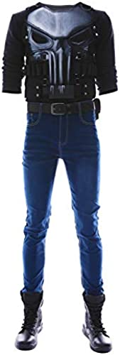 MingoTor The Punisher Season 2 Frank Castle Outfit Cosplay Kostüm Ma fertigung