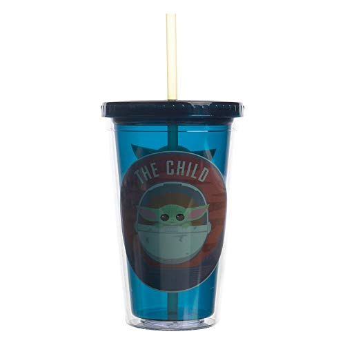 The Child Baby Yoda Evolution 16 oz. Acrylic Travel Cup
