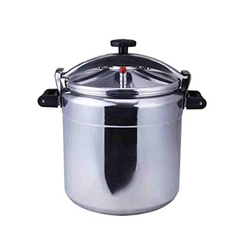 Cocina de presión de aleación de aluminio de la estufa de gas, cocina de presión de gran capacidad 3L-80L, cocina de presión multifunción a prueba de explosiones de seguridad, adecuada para el hogar,