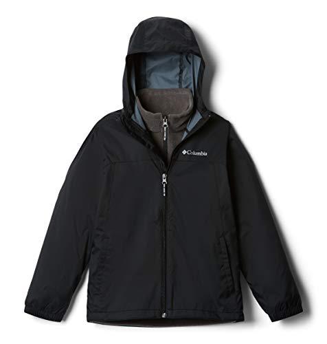 Columbia Kids' Big GlennakerInterchange Jacket, black, X-Small