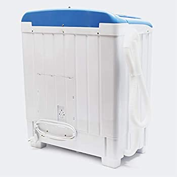 Mini Machine Laver pour Camping 5,2 kg Linge Normal Fin Essorage Voyage Mobile Lave-linge Silencieux