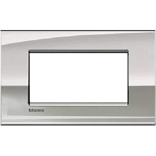 Bticino LNC4804PL Placca Livinglight Air 4 Moduli, Palivinglightadio